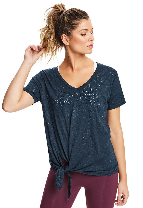 만트라 타이 사이드 롱라인 티셔츠_R201TTS002.DEEP