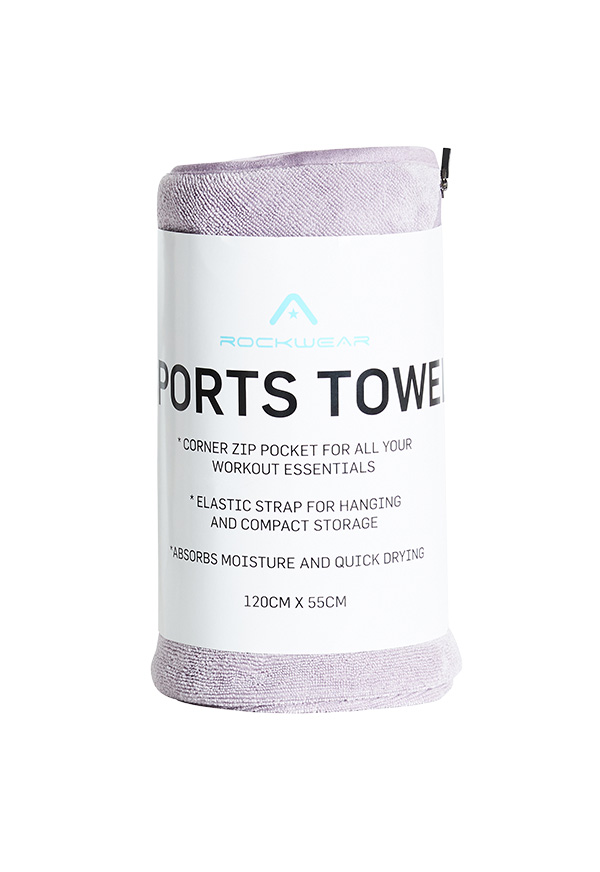 LIFESTYLE SPORTS TOWEL_R211ATW001.SMOK